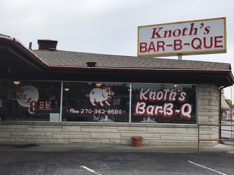 Knoth's Bar-B-Que, Grand Rivers, KY | Burgers, Barbecue ...